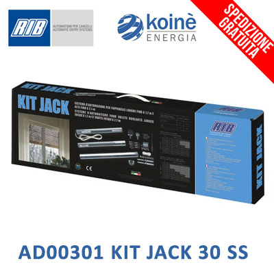 AD00301 RIB KIT JACK 30 SS