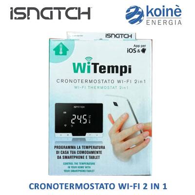 Isnatch cronotermostato WI-FI