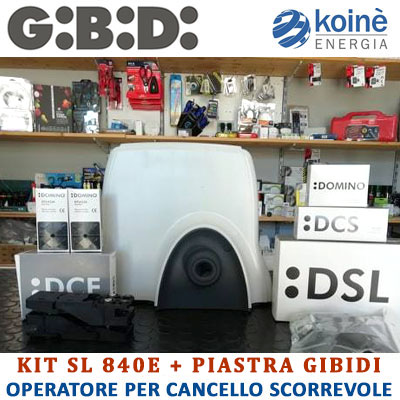 K81406/BFS KIT SL 840E GIBIDI