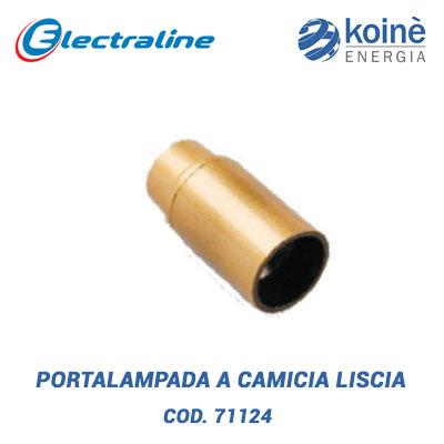 PORTALAMPADA A CAMICIA LISCIA electraline