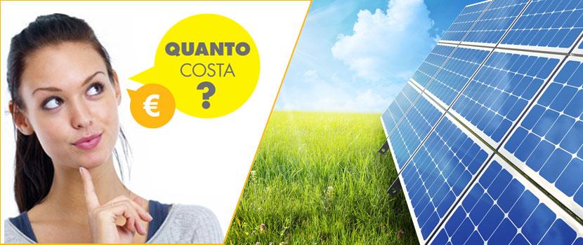 costo impianto fotovoltaico