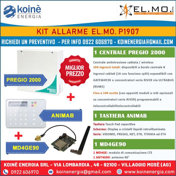 kit allarme elmo p1907
