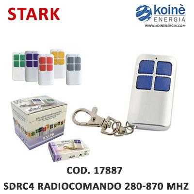 17887 stark sdrc4 radiocomando