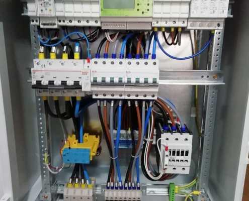Quadro parallelo rete 50KWp