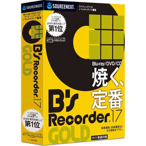 ソースネクスト Bs Recorder GOLD17 BSRECORDERGOLD17