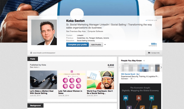 perfect-linkedin-profile-koka-sexton
