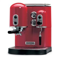 Kyocera Kitchen Sliding Shelves Kitchenaid Espressomachine Artisan Rood