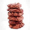 Chocolate chip brownie cookies