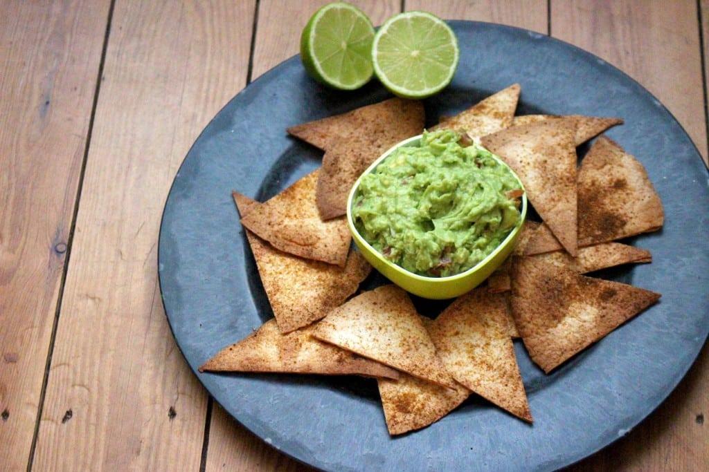 nacho's met guacamole