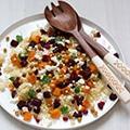 Oosterse couscous met gegrilde groenten