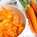 Spicy wortelsalade