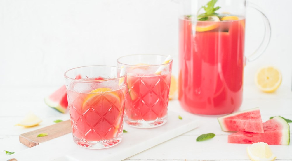 Watermeloen limonade