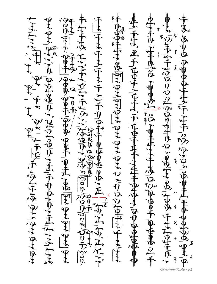 Chidori No Kyoku