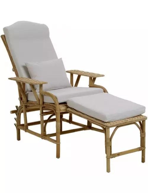coussin pour chaise longue grand mere