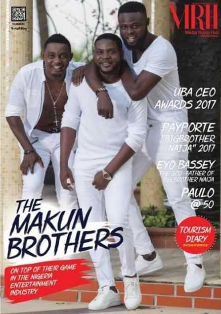 The Makun Brothers Cover April Edition Of MediaRoomHub Magazine 1