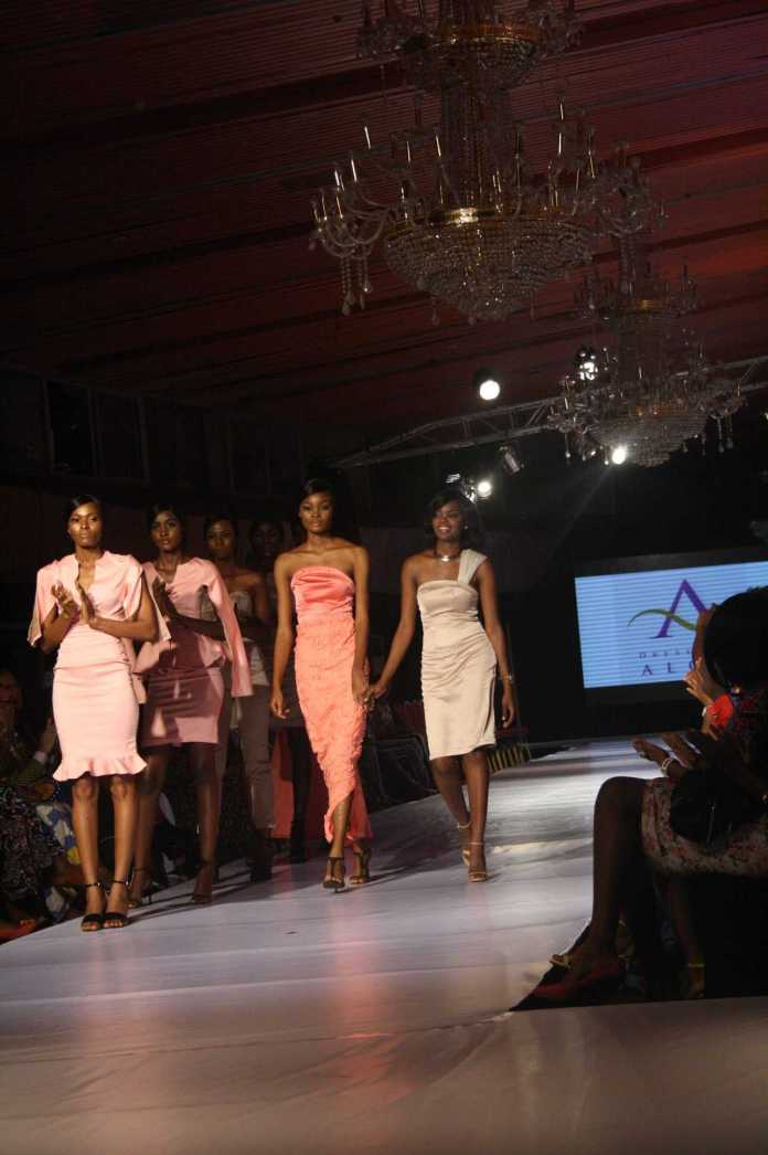 AFWN 2017: Dresses By Aloli Comes Up With Satiny Delights 7