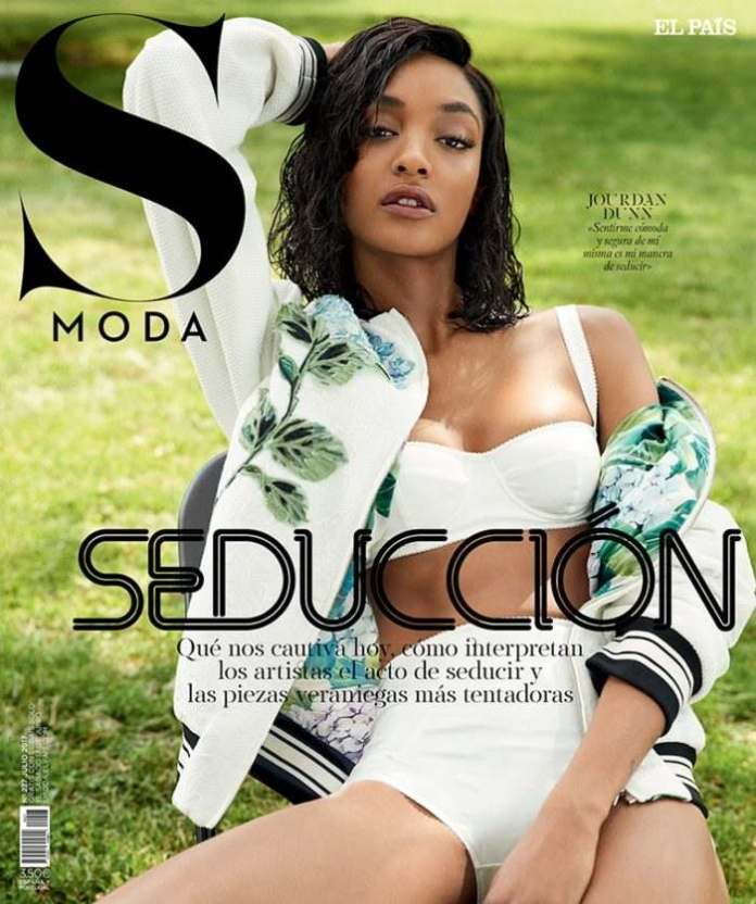 Jourdan Dunn Re-defines Seduction & Sexiness In S Moda Latest Issue 1