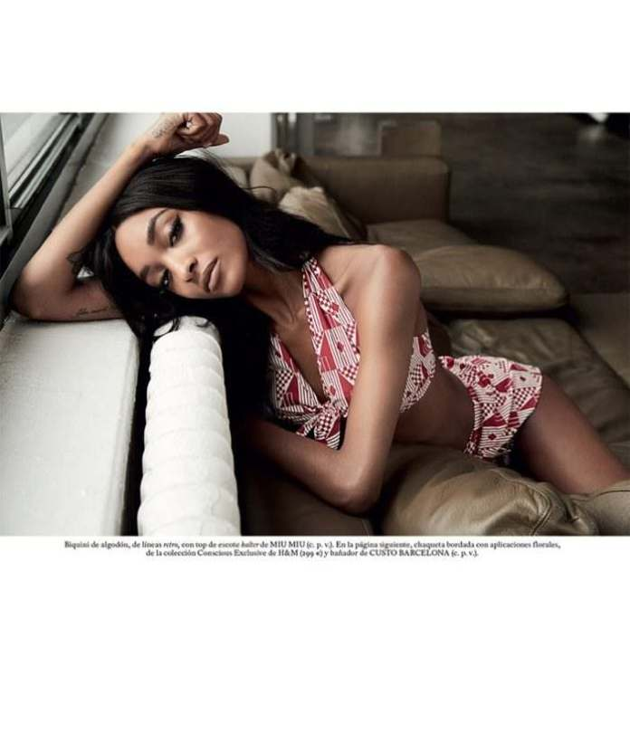 Jourdan Dunn Re-defines Seduction & Sexiness In S Moda Latest Issue 4