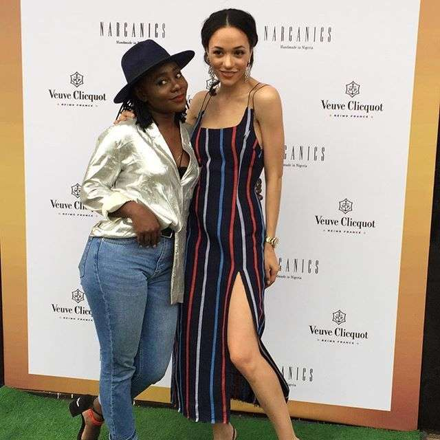 Eku Edewor Partners With Narganics Company On New Body Oil Launch 12