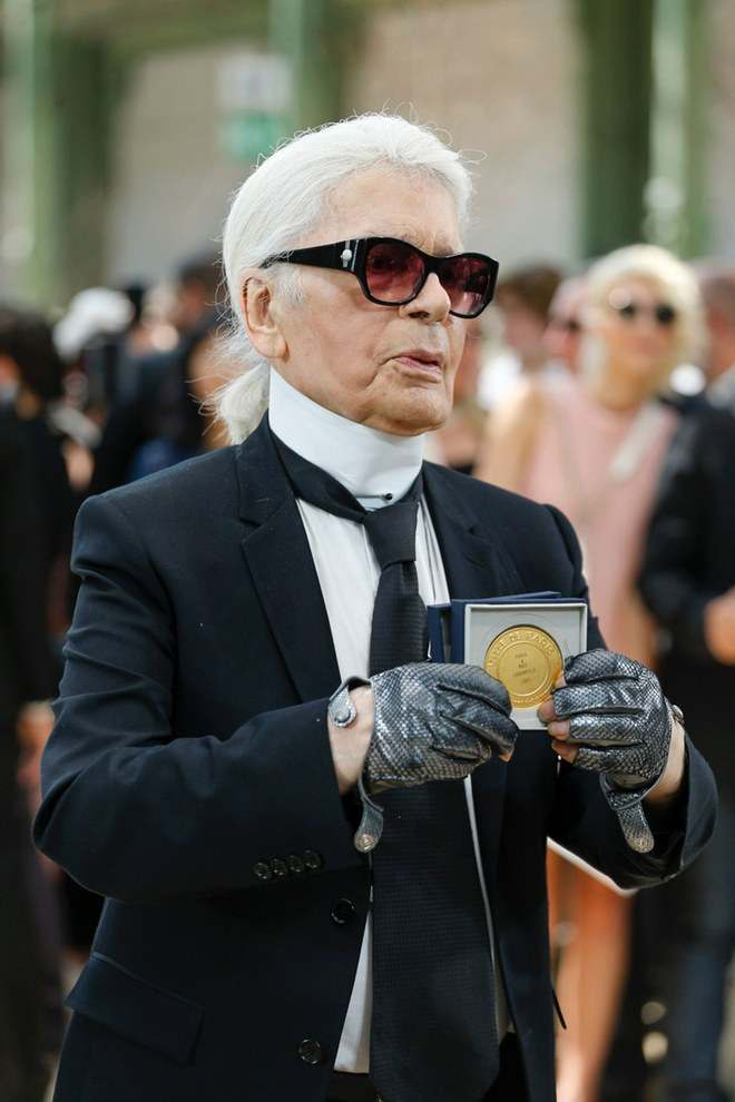 Karl Lagerfeld Is Awarded With Highest Honour In Paris 2