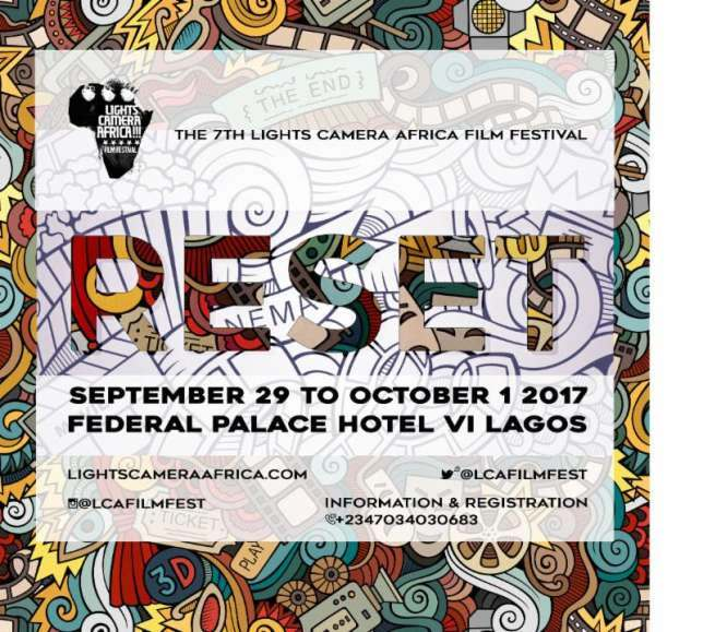 The 2017 Lights Camera Africa Film Festival To Hold This September 1