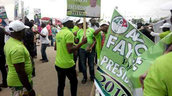 Ayo Fayose Launches 2019 Presidential Campaign At PDP Convention 3