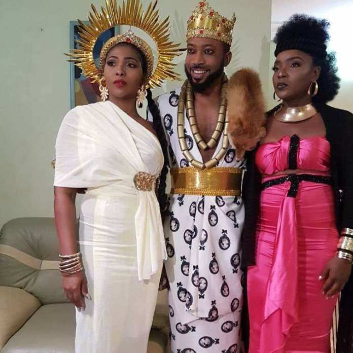 """Lilian Esoro Turns Goddess Of Wealth In Colourful Costumes For """"Somto"""" Movie 3"""