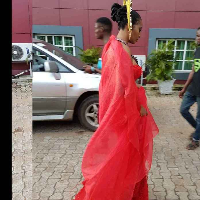 """Lilian Esoro Turns Goddess Of Wealth In Colourful Costumes For """"Somto"""" Movie 7"""