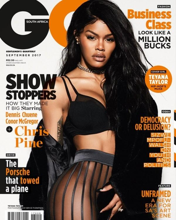 Issa Cover Girl! Teyana Taylor Sizzles On The Latest Issue Of GQ South Africa 4