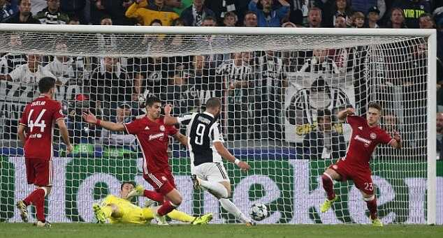 Juventus Is Back On Track With A 2-0 Victory Against Olympiacos 1