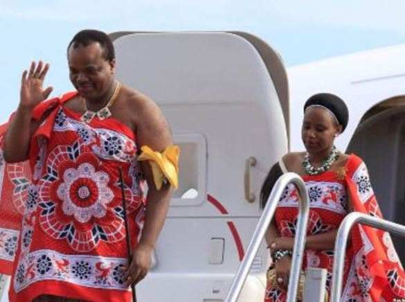 Meet King Mswati III Of Swaziland, The Monarch That Marries A Young Virgin Annually 8