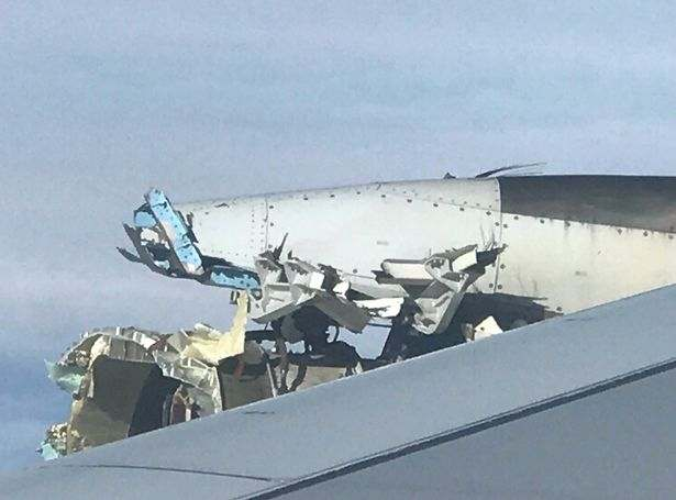 Drama As Engine Of Air France Flight From Paris To Los Angeles Destroyed Over The Atlantic 3