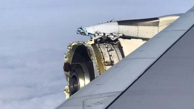 Drama As Engine Of Air France Flight From Paris To Los Angeles Destroyed Over The Atlantic 2