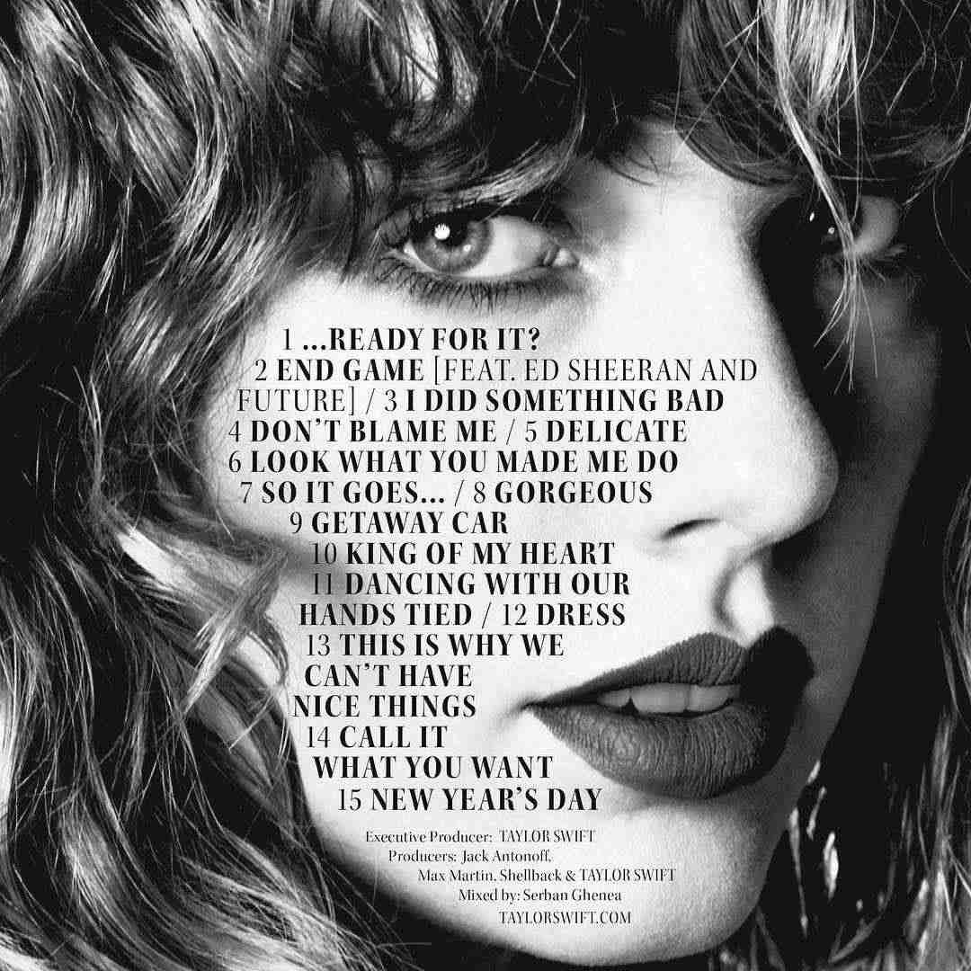 Taylor swift new album reputation is oute how to download it entertainment voltagebd Image collections