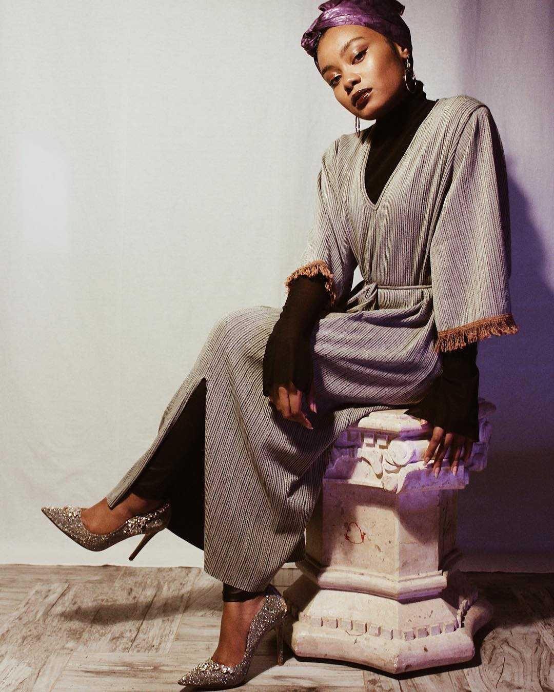 Muslimah Style Kazaya Is The Epitome Of Retro Fashion Koko Tv Nigeria