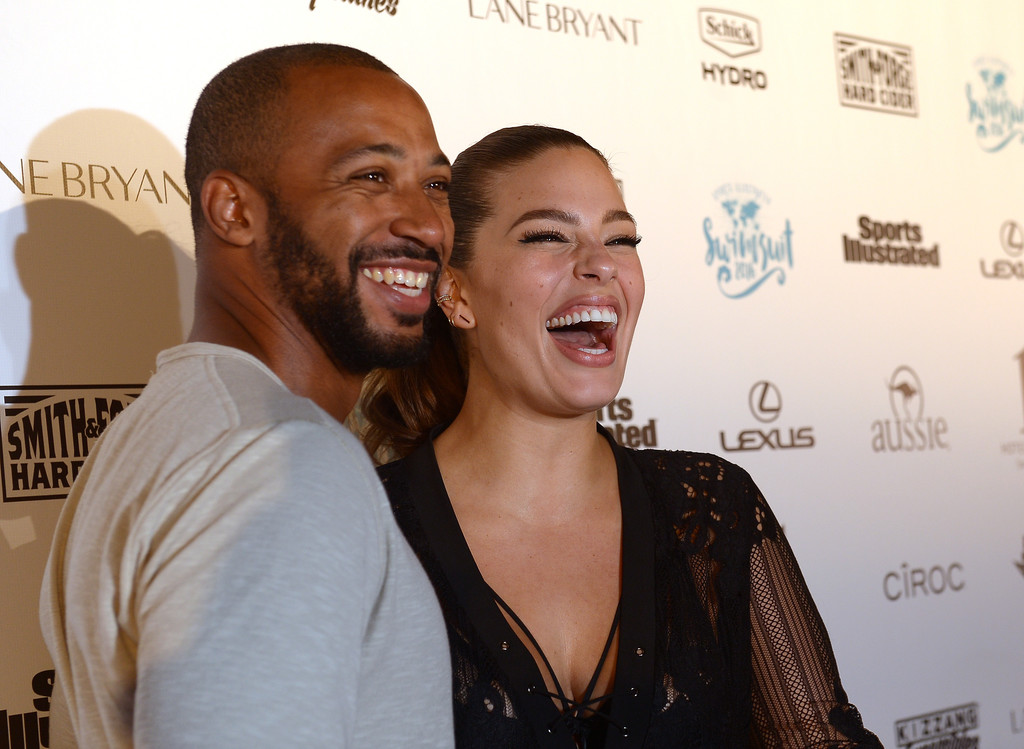 Celebrity couple ashley graham justin ervin are one inspiring duo ashley graham and husband justin ervin is still moving on strong the couple who first met at a church in nyc and the two tied the knot in august 2010 has m4hsunfo