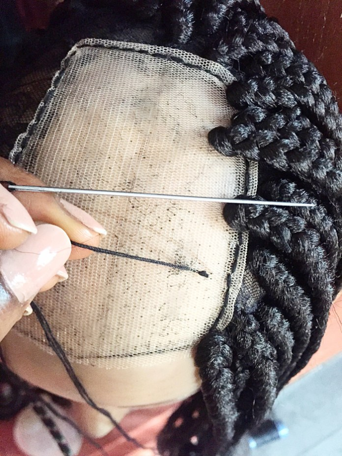 Wondrous Beauty Diy Fast Easy Steps To Making A Braided Wig Yourself Schematic Wiring Diagrams Phreekkolirunnerswayorg