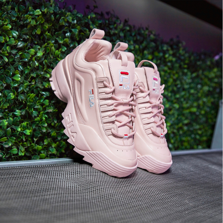 956c033a0f96 South Korean label originally founded in Italy FILA, has launched an exclusive  footwear collaboration with luxury company Barneys New York. The women's ...
