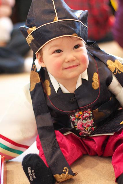 Grant S Korean 1st Birthday Panda Bear Theme Baby