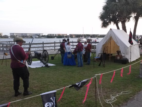 The local militia ready to defend the shores of Fort Walton Beach.