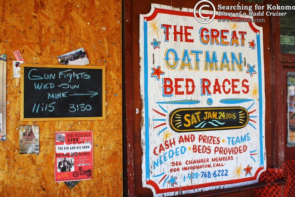 Gun fights and bed races