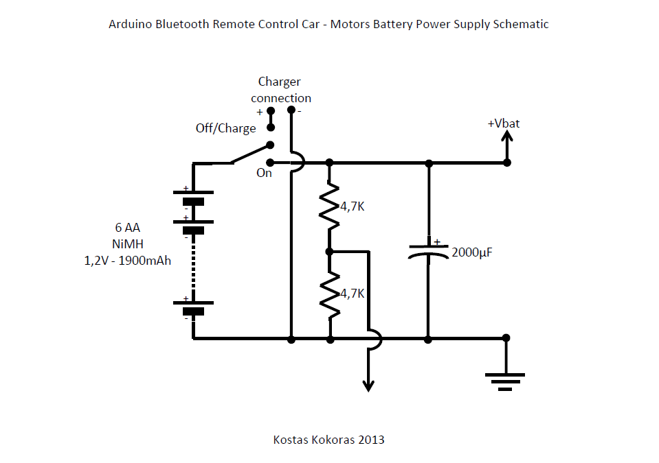 Arduino Bluetooth R/C Car