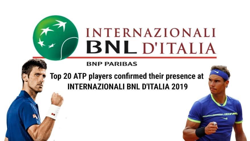BNLイタリア国際(Internazionali BNL d'Italia)| マスターズ1000について
