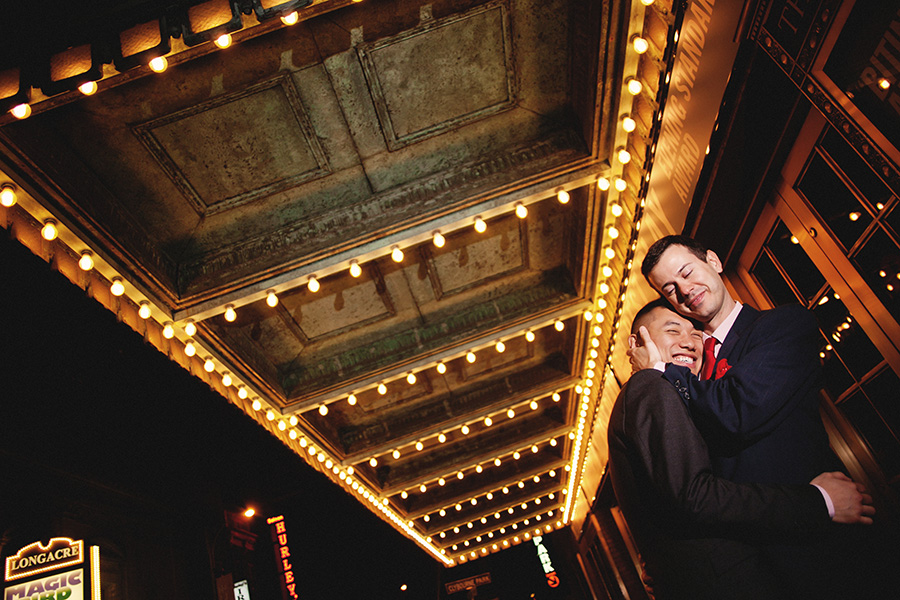 Time Square LGBT Engagement Pictures