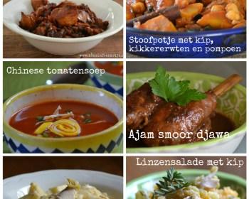 6 recepten met kip