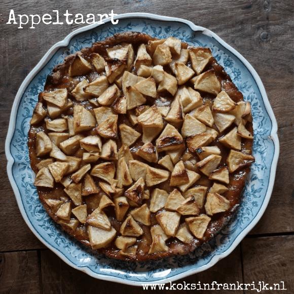 Makkelijke appeltaart met appelstroop