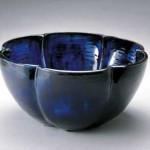 2004 瑠璃輪花深鉢  34×34×1