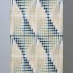 2005 青い季節に  着物  絹