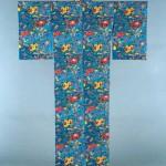 2006 草花文着物