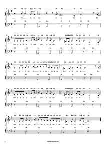 Bekle Dedi Gitti - Kolay Piyano Notası